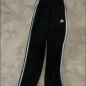 Adidas Track Pants joggers black/white L youth